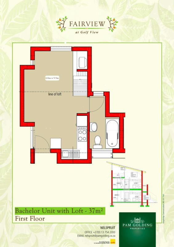 1 Bedroom Apartment For Sale Nelspruit 1ns1301160