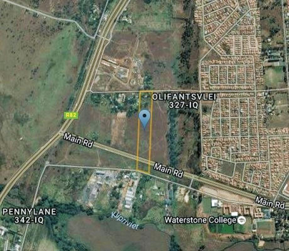 39000 m² vacant land for sale in Olifantsvlei
