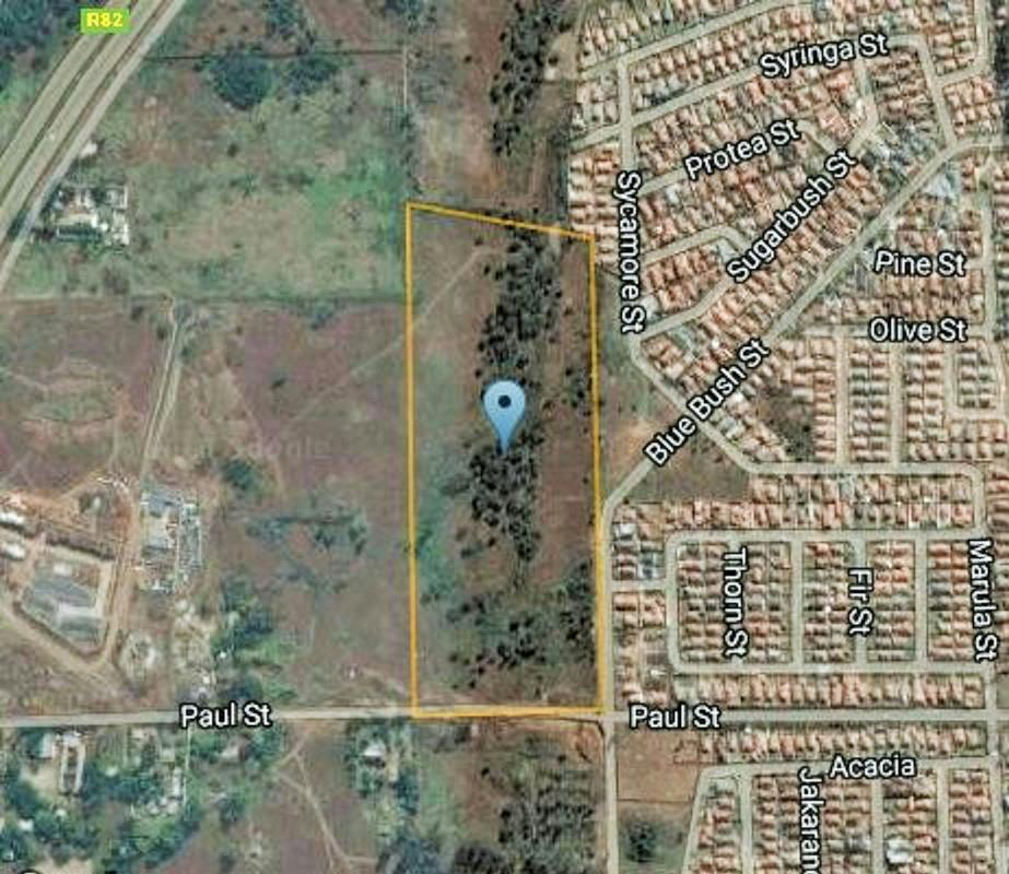 87800 m² vacant land for sale in Olifantsvlei