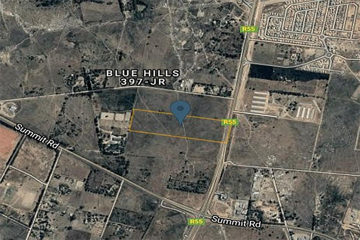 8.56 hectare vacant land for sale in Blue Hills