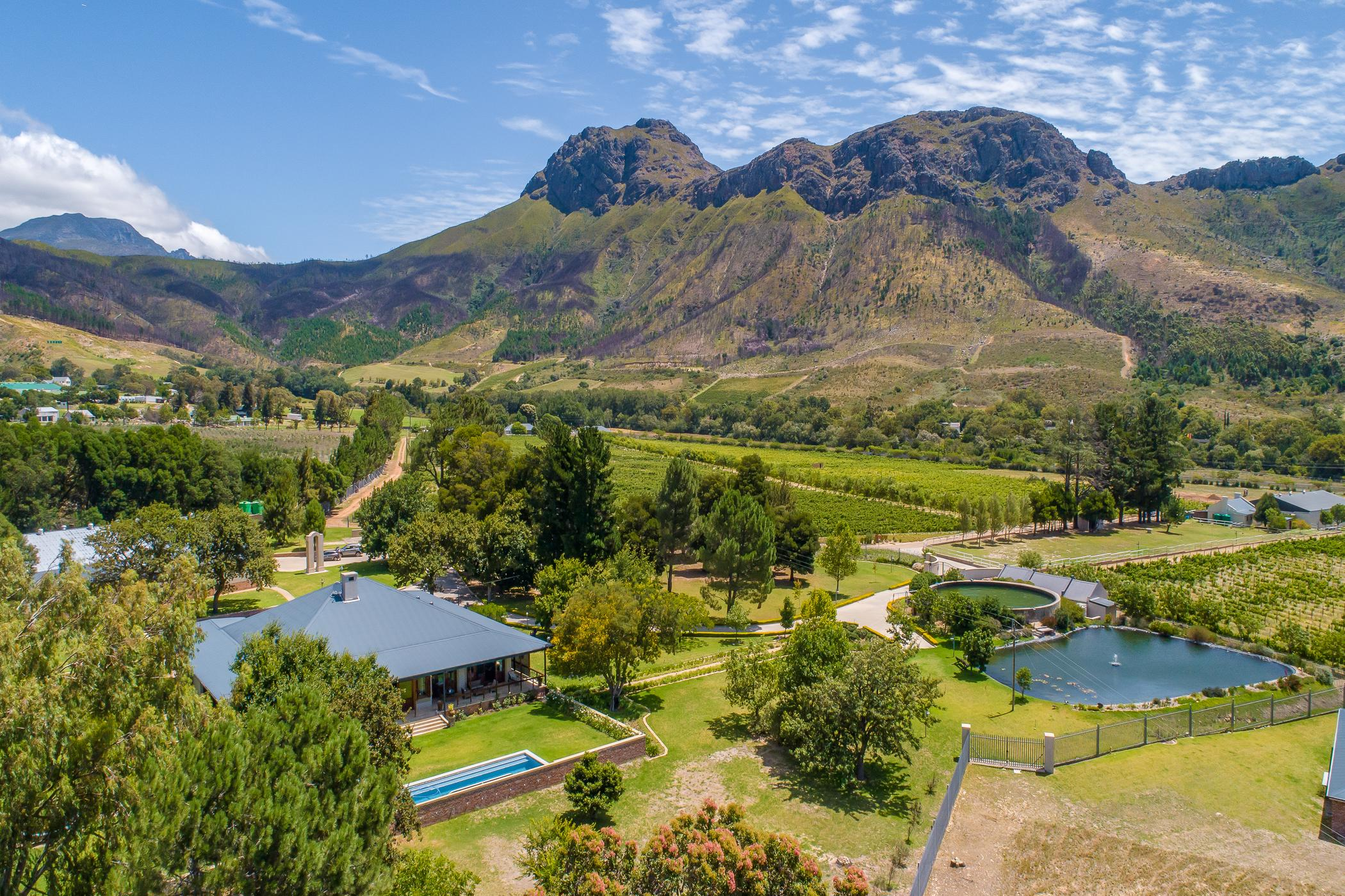 29 hectare mixed use farm for sale in Franschhoek Rural