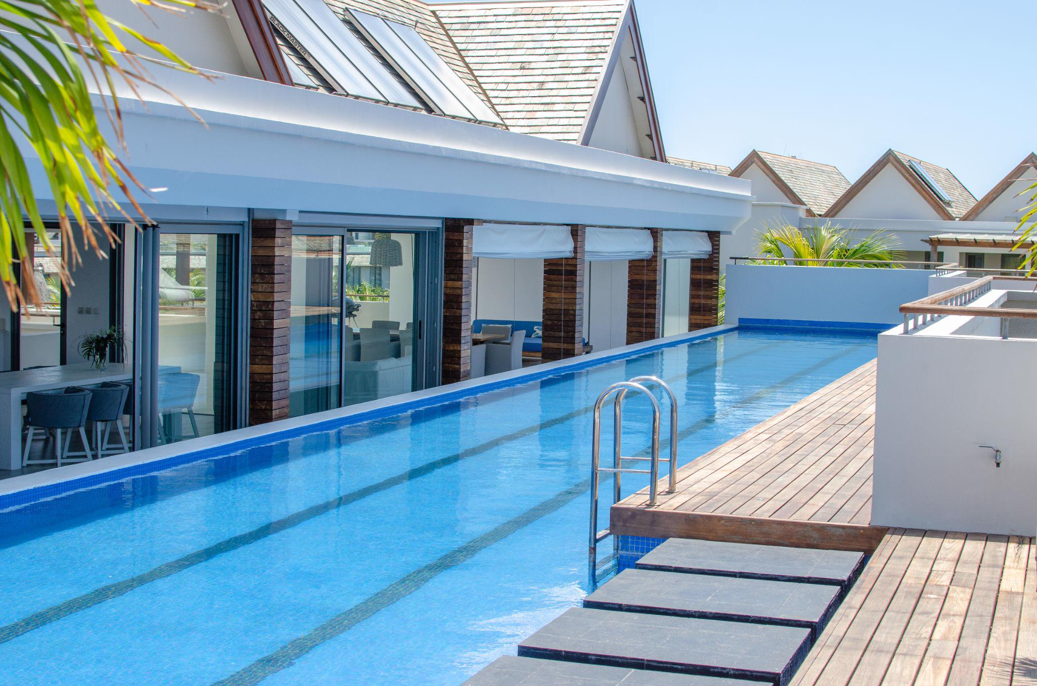 5 bedroom penthouse apartment for sale in West Island Resort (Mauritius)