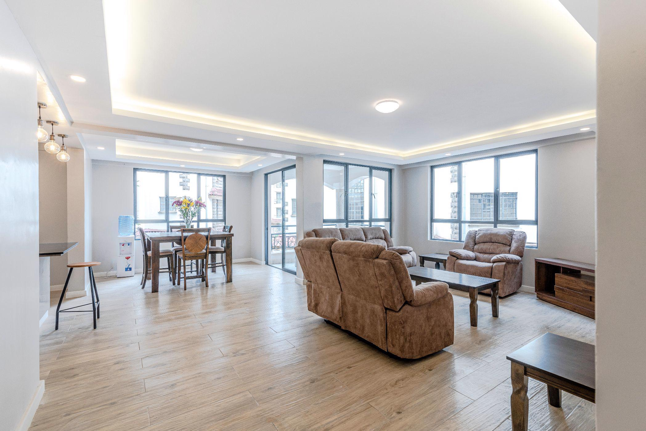 4 bedroom penthouse apartment to rent in Lavington (Kenya)