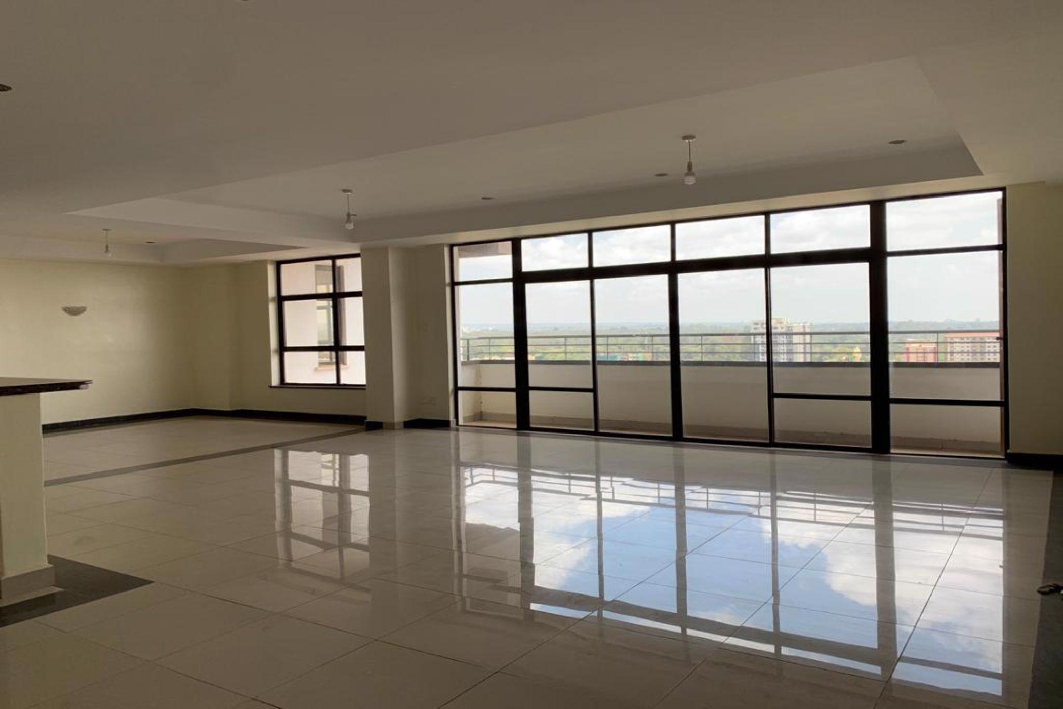 4 bedroom penthouse apartment to rent in Parklands (Kenya)