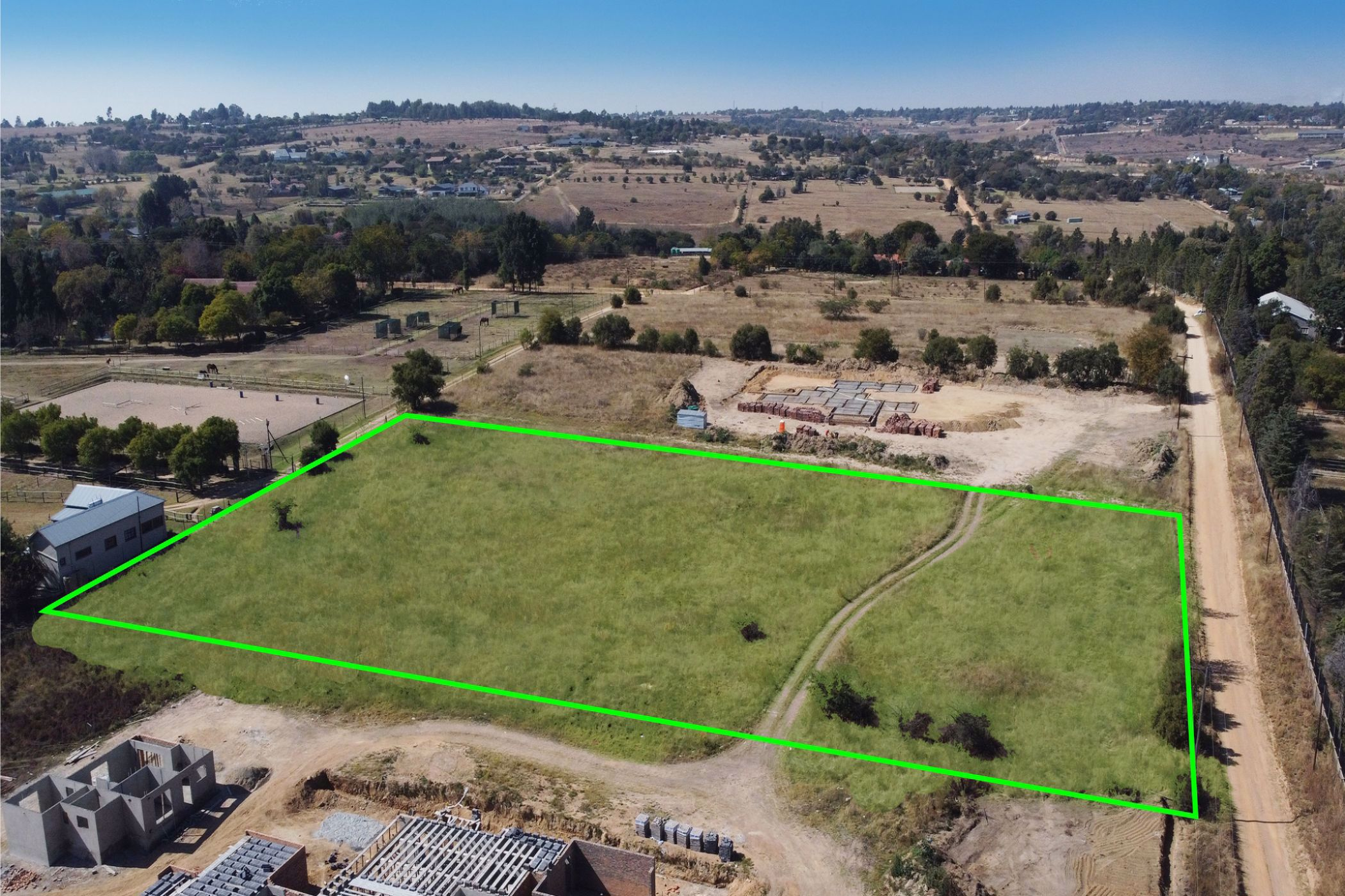 1.05 hectare residential vacant land for sale in Sun Valley (Midrand)