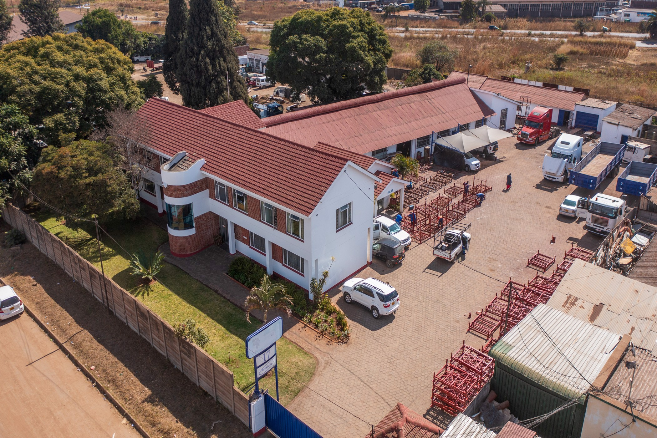 3511 m² commercial industrial property for sale in Ardbennie (Zimbabwe)