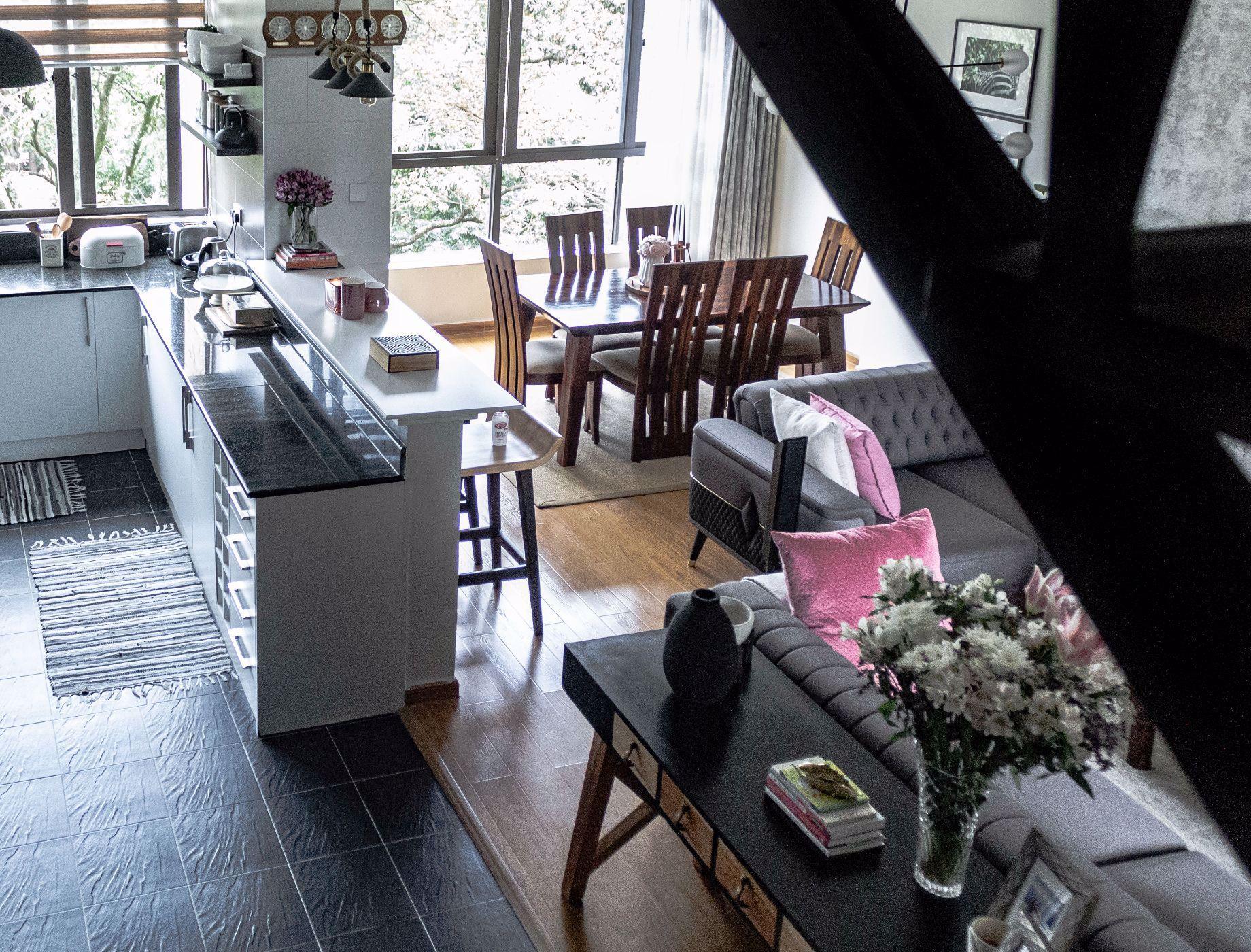 3 bedroom double-storey apartment to rent in Kilimani (Kenya)