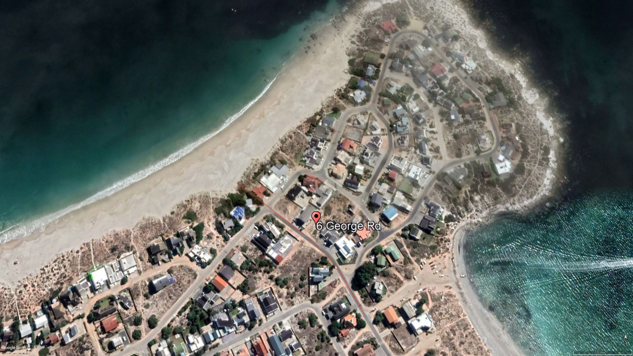 636 m² vacant land for sale in Britannia Bay